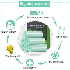13 gallon compost trash bags