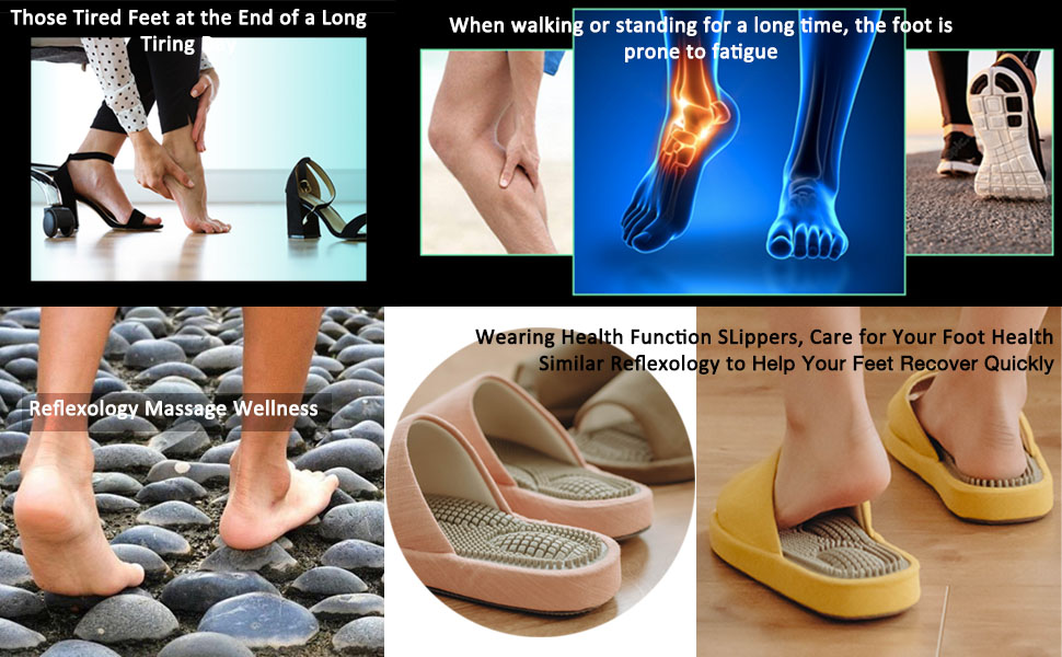 reflexology sandals to help your feet recover quickly