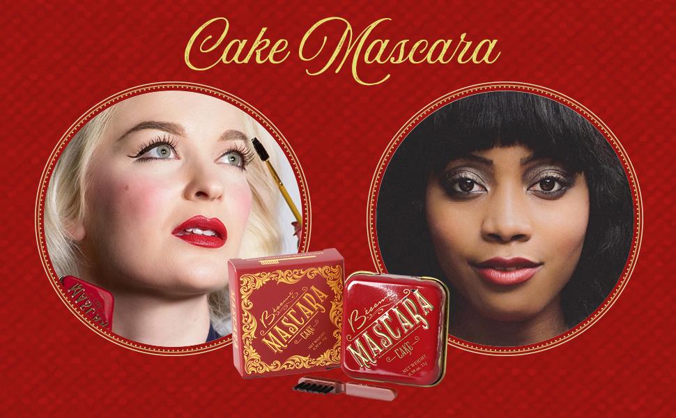 0626662b505 Amazon.com : Besame Cosmetics: Cake Mascara - Vintage Mascara - .39 ...