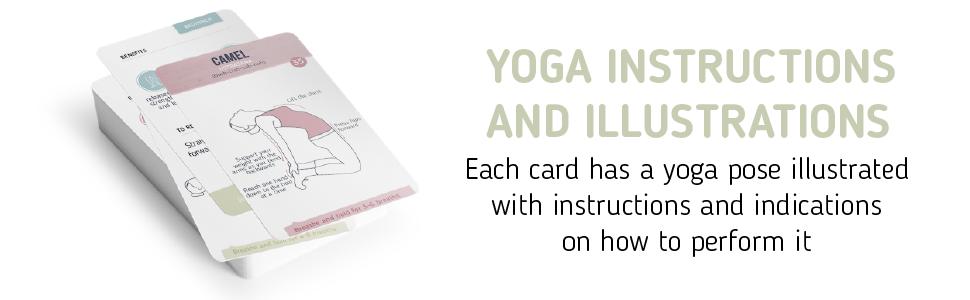 yoga cards instructions