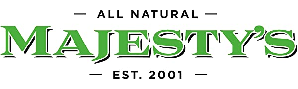 All Natural Majesty's Animal Nutrition Wafers, Since 2001