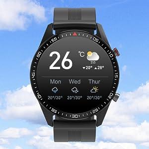 Weather Information Smart Watch