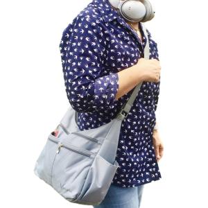 935790e1150f Voyanni Crossbody Bag For Women Nylon Multi Pocket Travel Purse