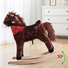 balancín mecedora niños bebes juego juguete regalo animales peluche cinturón de seguridad sonido