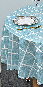 Length /& Width Selectable Square Washable PVC Tablecloth Jade Pink Oilcloth