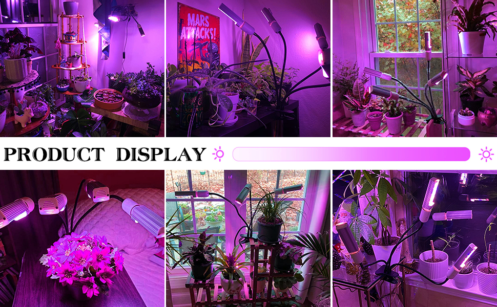 this grow lamp suitable for bedroom, living room, study, private garden,led lights hydroponic