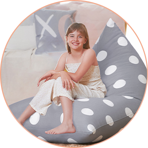 bean bag chair cover only