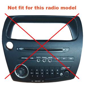 Civic radio