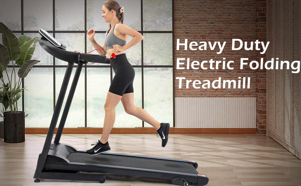 Heavy Duty Electric Folding Treadmill