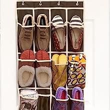 Shoe Organizer, Brown
