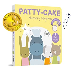 PATY CAKE NURSERY RHYMES SOUND BOOK BOOK COVER