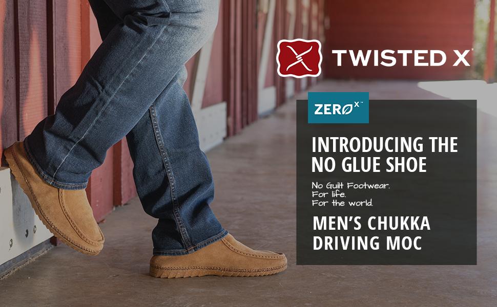 Twisted X Zero-X - Chukka Driving Moc