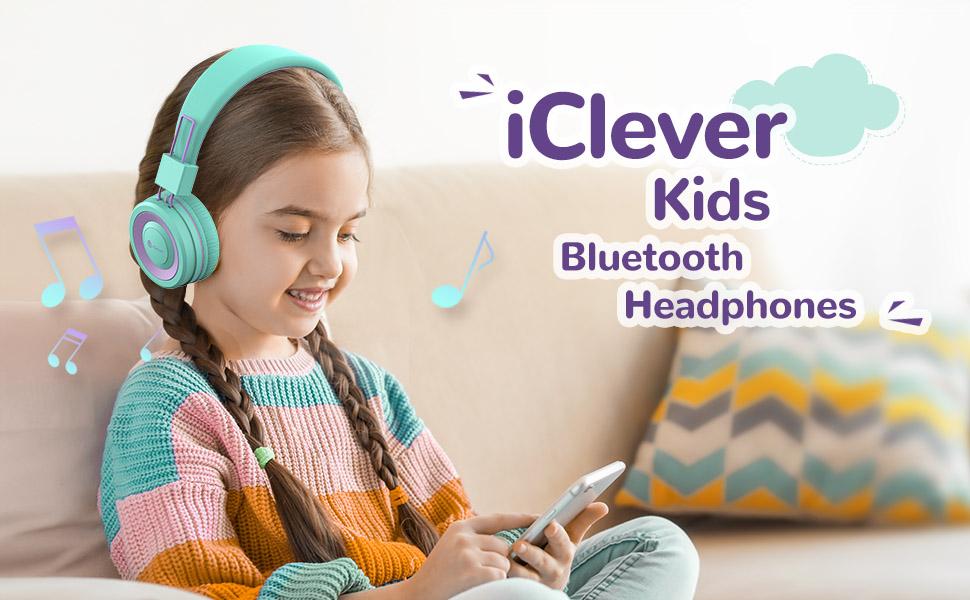 ear headphones kids headphones bluetooth headphones with microphone wireless headphones for kids