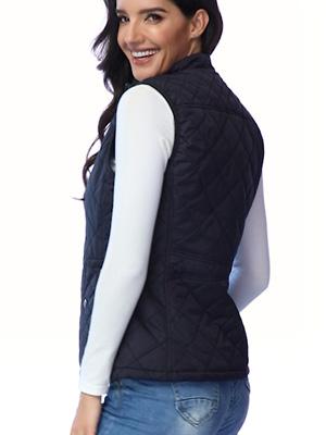 women vest sweater Quilted Lightweight Jackets
