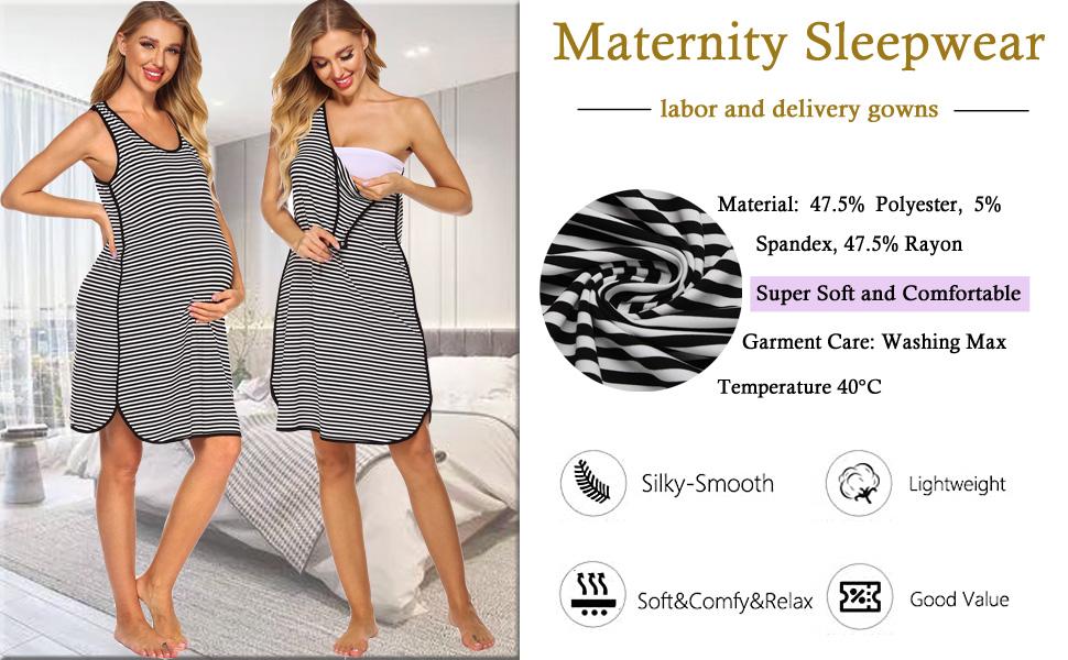 maternity sleepwear
