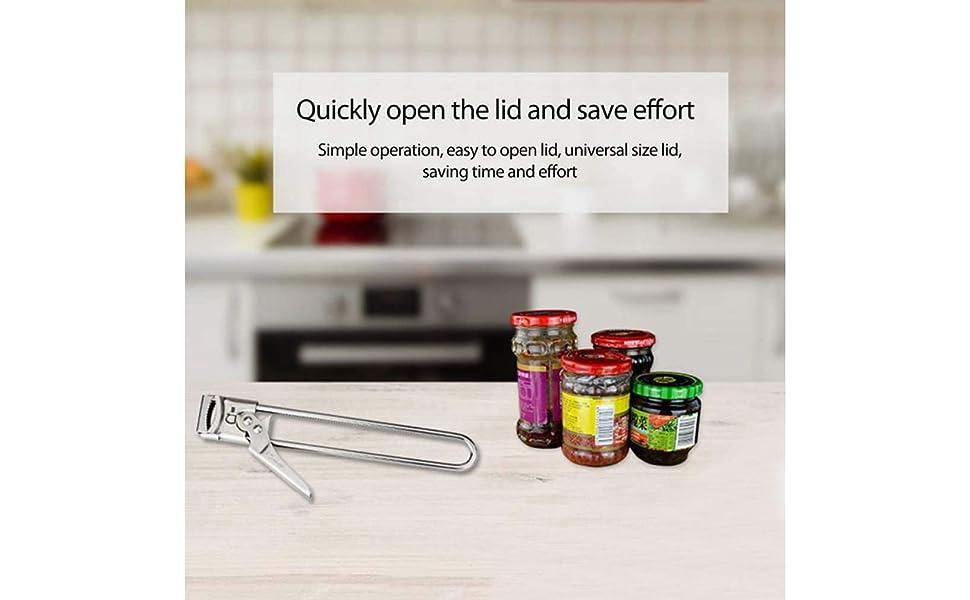 Master Opener Adjustable Jar &Bottle Opener