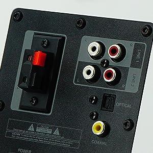 Multimedia Active MDF wood Speakers