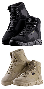 6 Inches Hiking Boots
