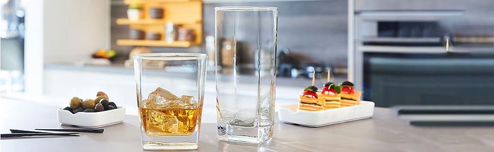 kitchen glasses