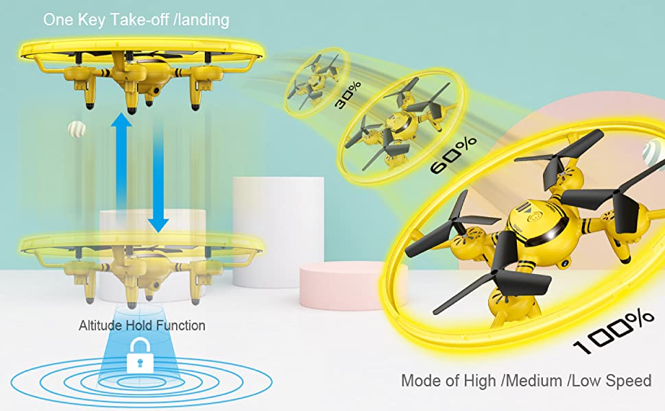 Flashandfocus.com 86ff0657-2b7d-4ca6-a69c-e73f13bf5cee.__CR0,0,3368,2083_PT0_SX970_V1___ HASAKEE Q8 FPV Drone with Camera for Kids Adults,RC Drones for Kids,Quadcopter with Yellow Light,Altitude Hold,Gravity…