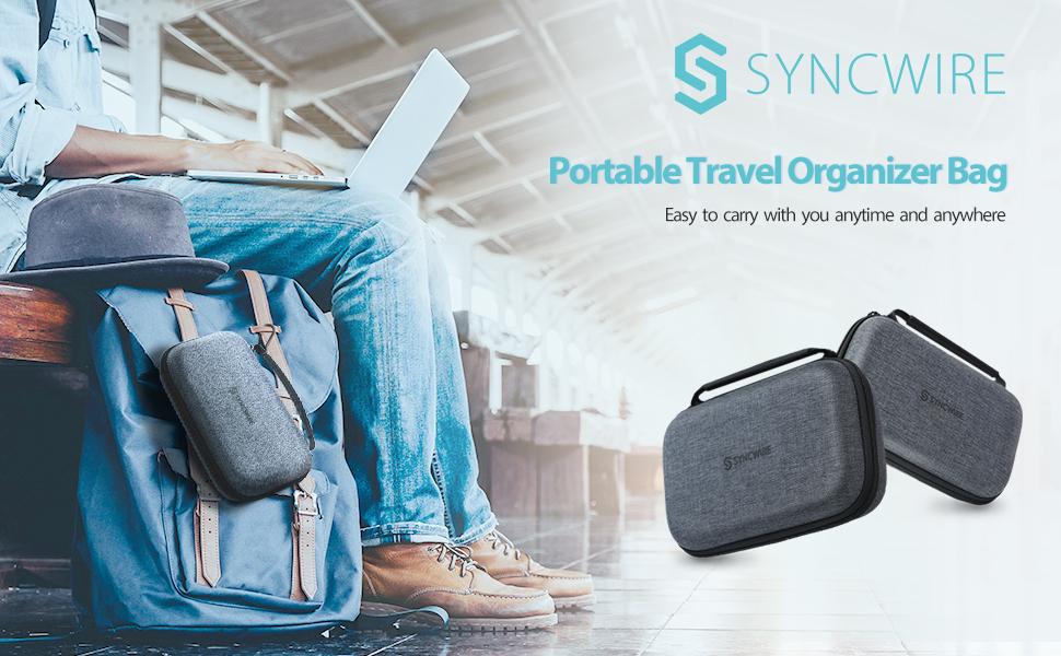 electronics travel case gadget bag