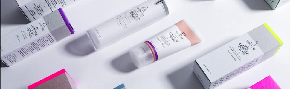 Beauty brand for woman facial skincare beauty for skin face and eyes