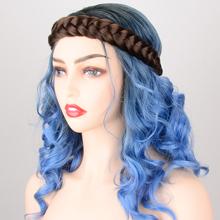 2 Strands Braided Headband 4oz