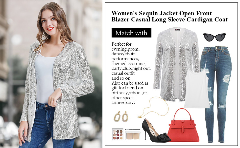 sparkly jackets