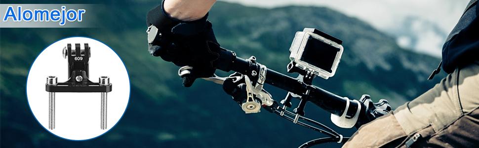Alomejor Fahrrad Stem Mount Aluminiumlegierung Kamera Bike Motorrad Lenker Halterung Für Sj Cam Xiaomi Yi Kameras Sport Freizeit