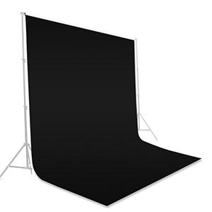Black Screen Photo Backdrop