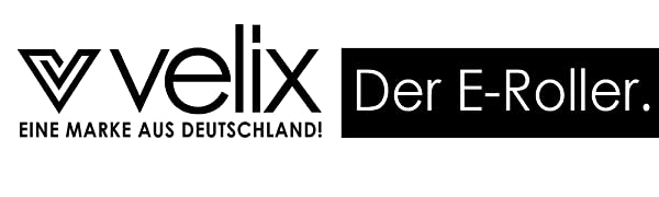 Logo velix - Der E-Roller - Eine Marke aus Deutschland
