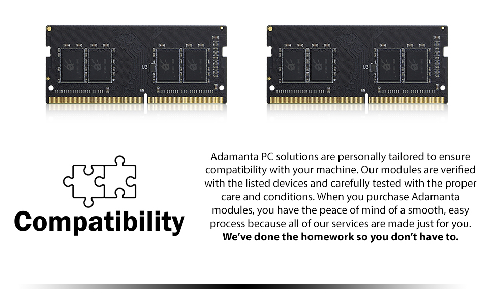 PC, solutions, compatible, verified, modules, devices, tested, care, conditions, services, easy