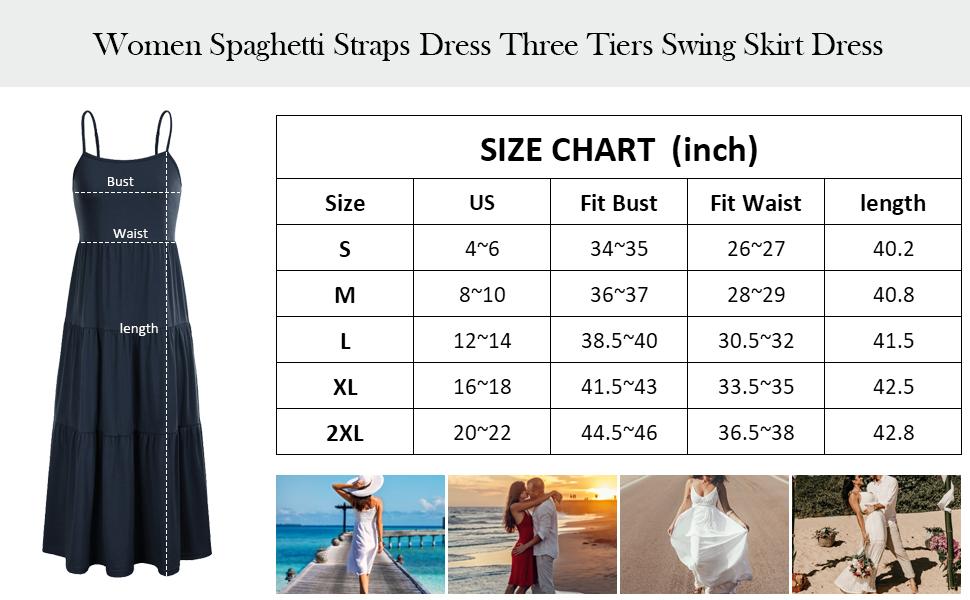 swing dress for women long