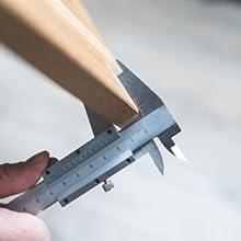 Montage tafelpoten van Holzbrink - stap 1