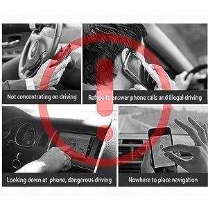 car phone mount mirror
