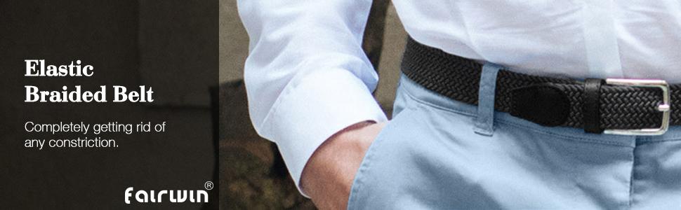 Men Elastic Belt