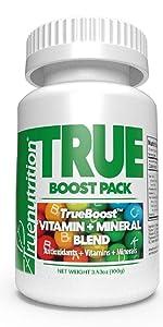 true nutrition trueboost custom protein powder vitamin mineral blend