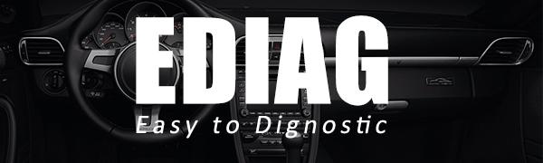 ediag obd2 scanner' brand story