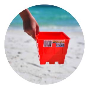 sandbox toys seashell bag outdoor games for kids