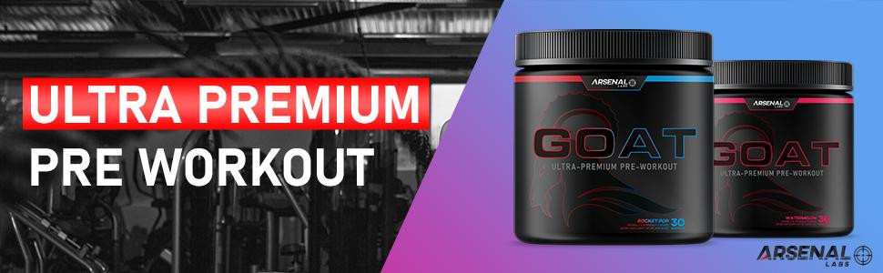 Ultra Premium Pre Workout