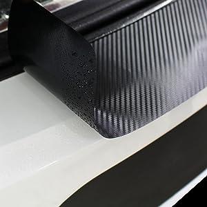Finest Folia Ladekantenschutz Lackschutzfolie Inklusive Rakel Filz Passgenauer Zuschnitt Für Ihr Fahrzeug Schutz Kofferraum L05 L03 Transparent Oraguard 270 Stone L05 Limousine Auto