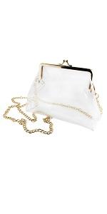 kiss lock clear purse