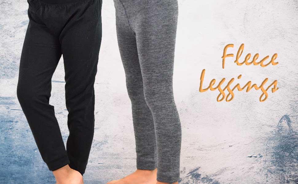 Girls Fleece Leggings