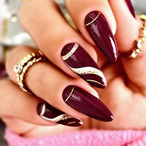 gel nail polish fall
