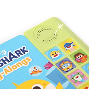 Pinkfong Baby Shark Sound Book Outside
