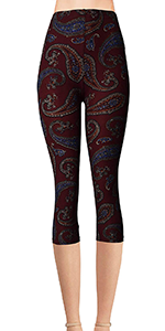 leggings printed brushed cool cute designs dogs cats plus long size soft pocket women girls cotton