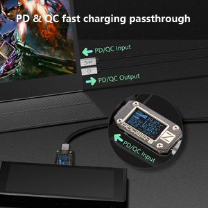 PDamp;QC fast charging