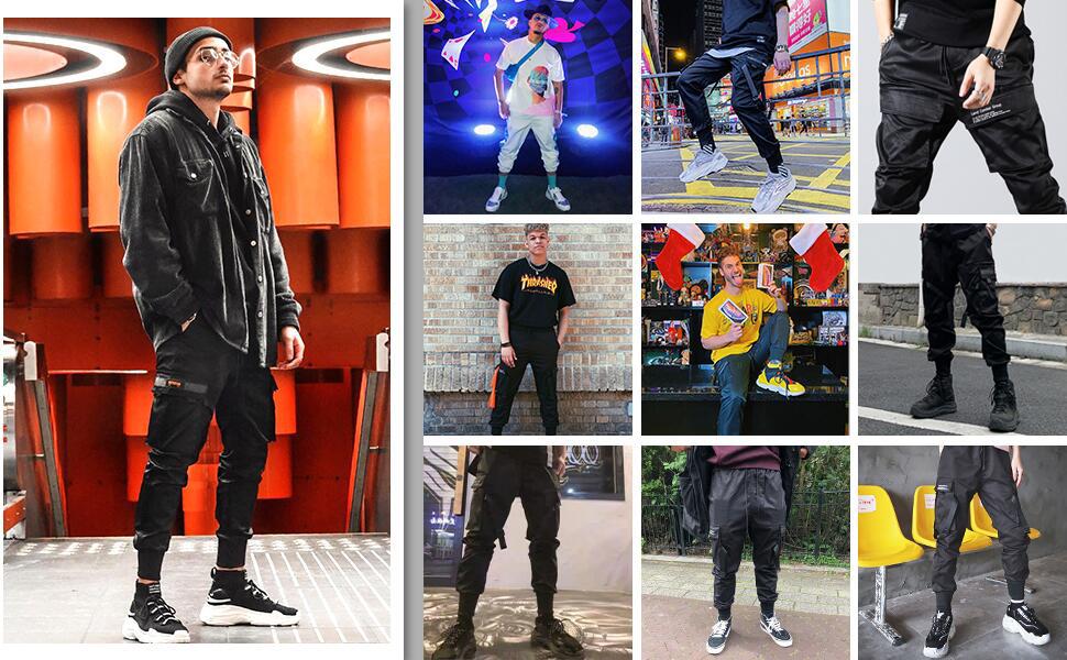 fashion streetwear pants