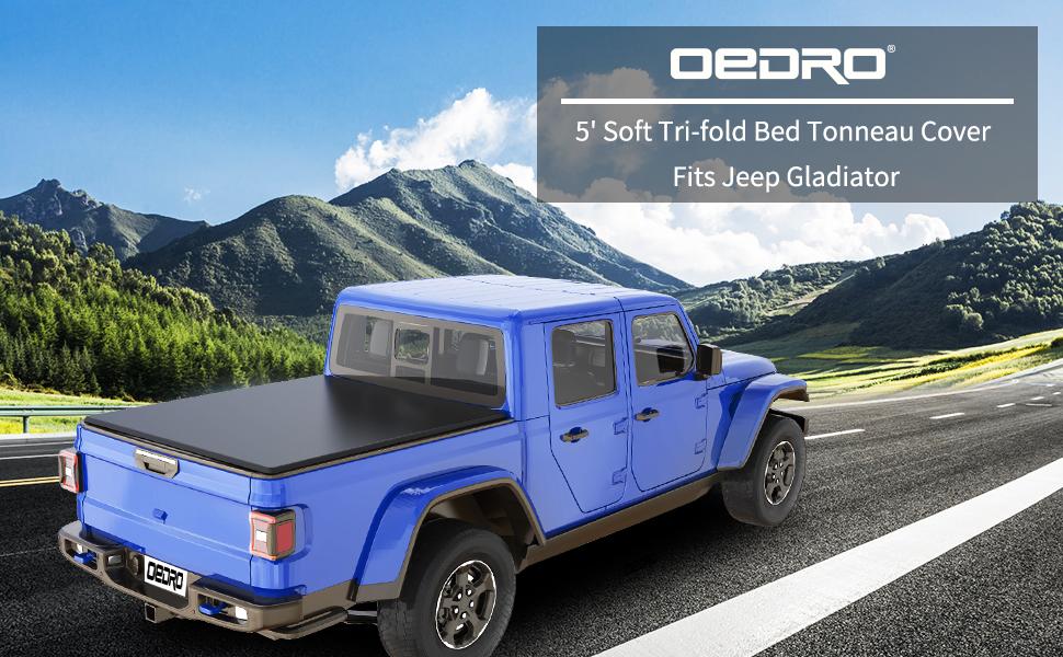 5ft trifold tonneau cover