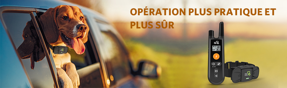 operation plus pratique et plus sur